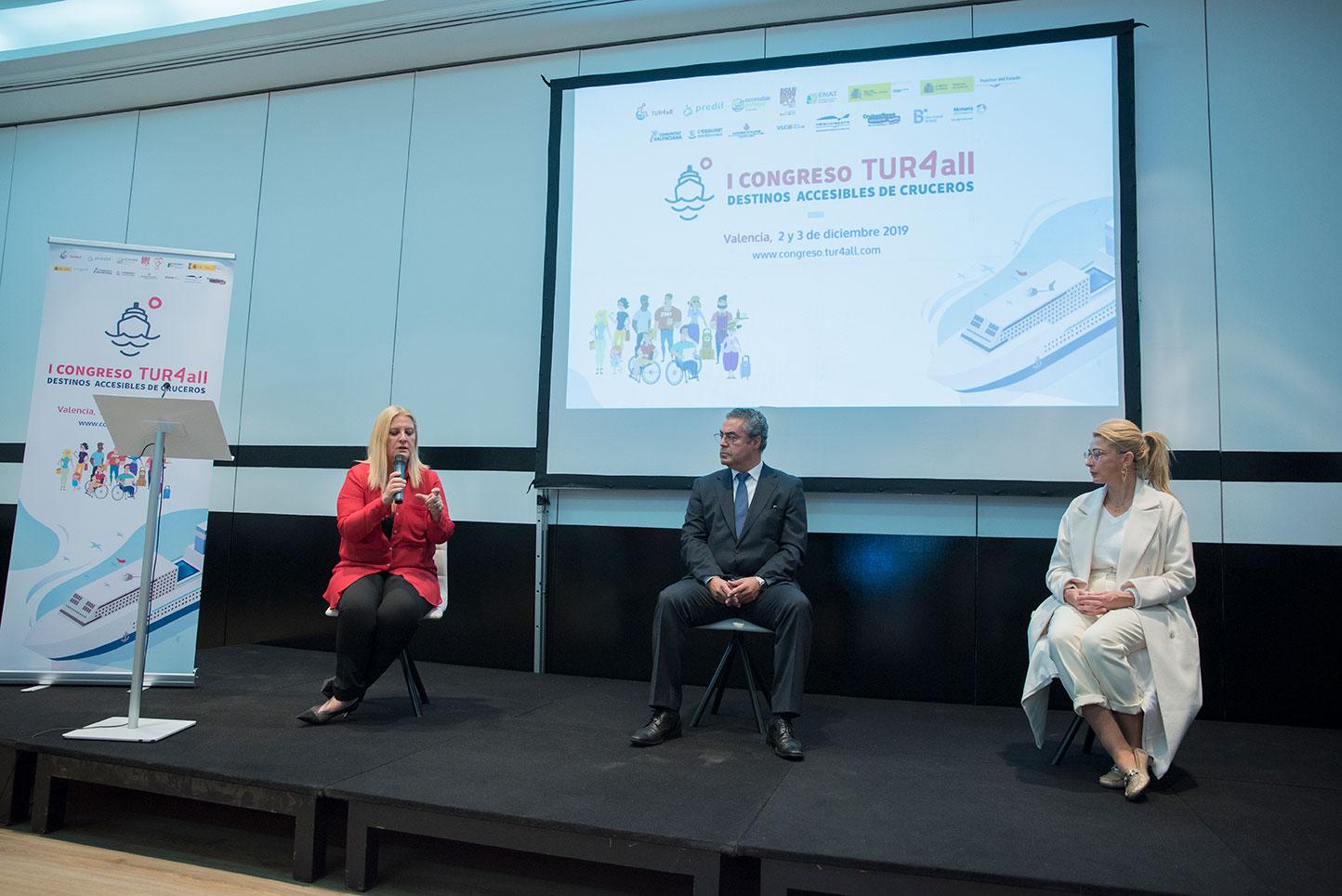 Francesca Antonelli- Malik-Alkarea-Virginia-Lopez- Presentacion-Congreso-Madrid-en-Noviembre
