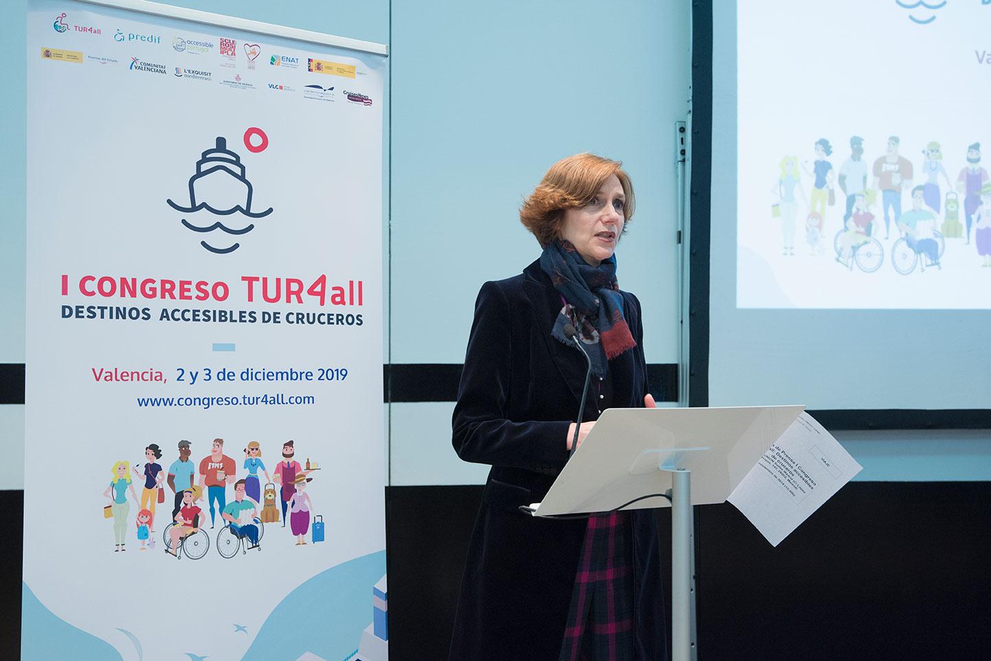 Donya-Isabel-Oliver-Sagreras-Secretaria-Estado-de-Turismo- Presentacion-Congreso-Madrid-en-Noviembre